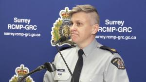 Surrey RCMP show off huge drug seizure in Newton